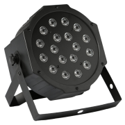 HED Lighting LED PAR FLAT 18 x1W QF 1214