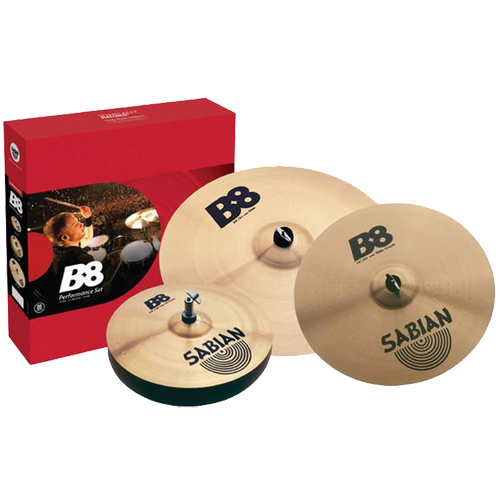 SABIAN B8 Performance Set with Free 14