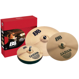 "SABIAN B8 Performance Set with Free 14"" Crash"