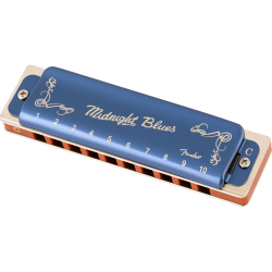 Fender® MIDNIGHT BLUES HARMONICA C