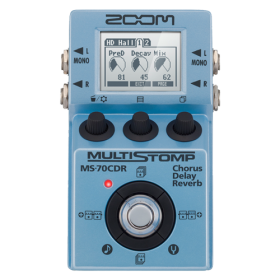 ZOOM MS-70CDR - Multi Stomp