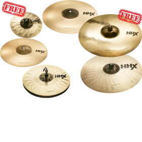 "SABIAN HHX Super Set free 10"" & 18"""