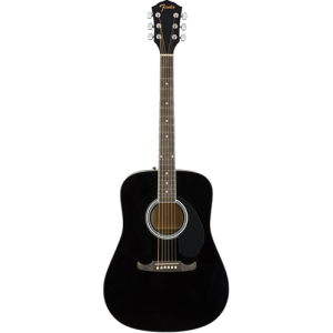Fender® FA-125 Dreadnought, Black NRW