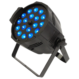 LED PAR 64M 18Wx18 RGBWA-UV (6-in-1) ZOOM