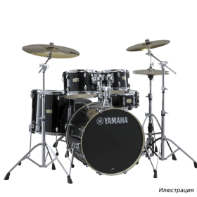 YAMAHA DRUMS Stage Custom Birch Drum Set SBP2F5(RBL)7