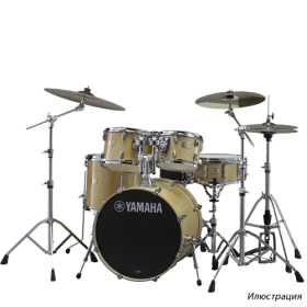 YAMAHA DRUMS Stage Custom Birch Drum Set SBP2F5(NW)6W