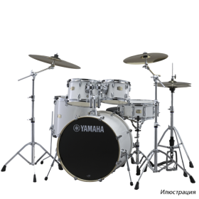 YAMAHA DRUMS Stage Custom Birch Drum Set SBP2F5(PW) 7