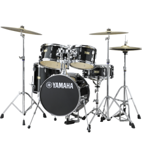YAMAHA DRUMS Junior Kit Manu Katche Raven Black
